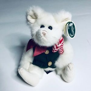 Vintage Bearington Collection Holiday Plush Mouse